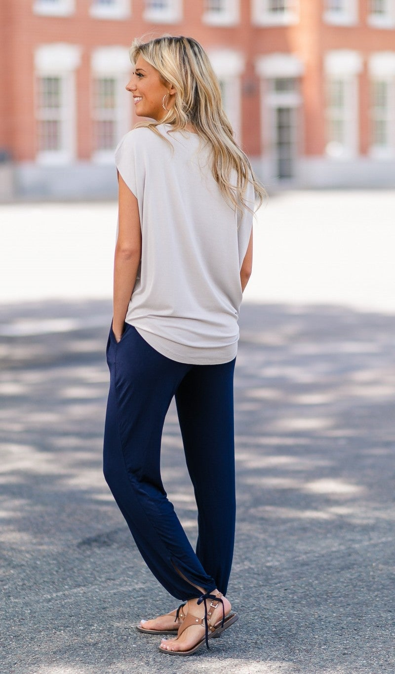 Everything You Need Jogger, Navy