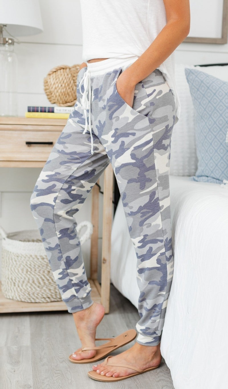 Something You Will Love Jogger, Grey Camo