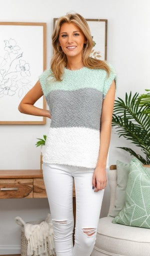 Feeling Hopeful Sweater, Mint