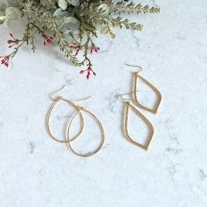 BUNDLE! Simply Subtle-  Earrings, Gold