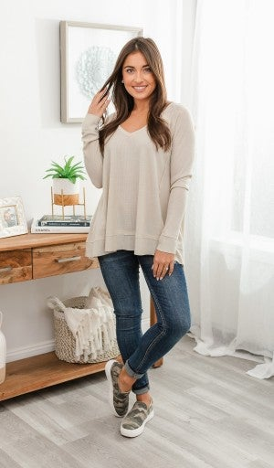 Best Of The Best Top, Taupe