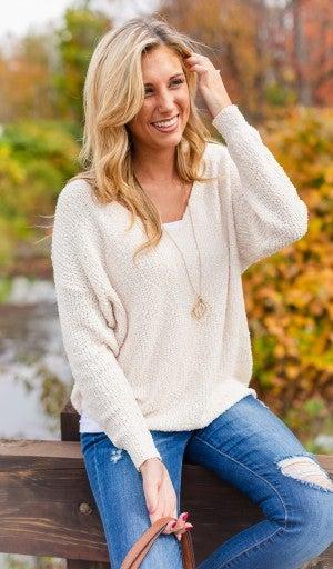 Dreamers Delight Sweater, Cream