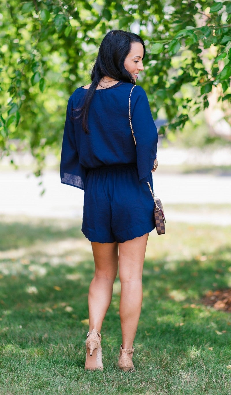 Born To Be Chic Romper