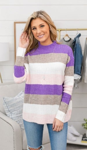 That's On You Sweater, Purple