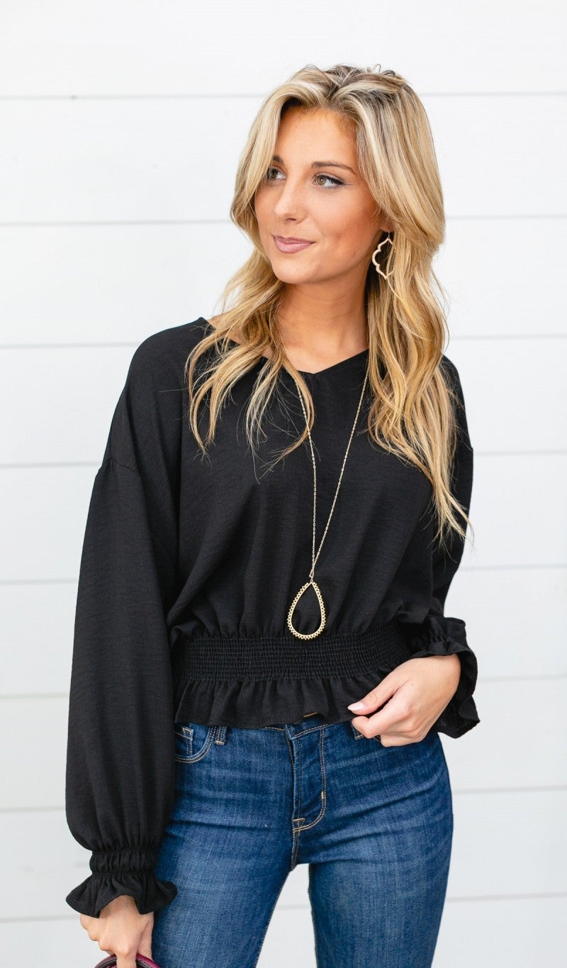 High Hopes Top, Black