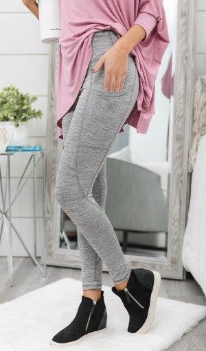 Lovable Leggings, Black or Silver