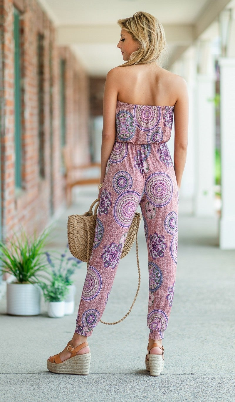 Step Outside Jumpsuit
