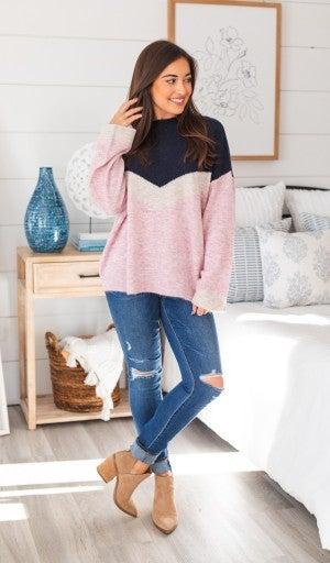 Aspen Dreaming Sweater, Mauve