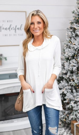 Fearless Winter White Tunic