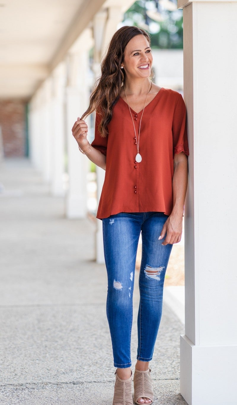First Impression Top, Rust
