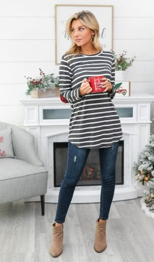 Black Friday EARLY RELEASE!!  Delightfully Striped Top