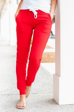 New Best-friend Joggers, Red