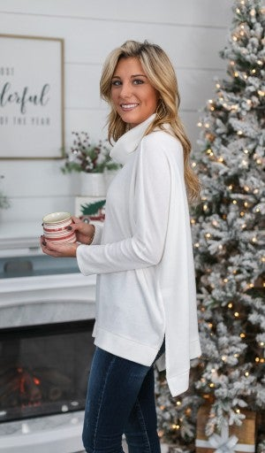Welcome The Winter Tunic, Ivory
