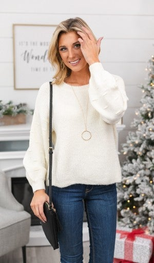 Treat Yourself Top, Ivory