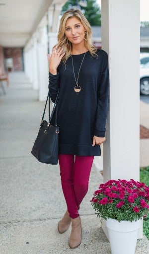 Beyond Basic Tunic, Black