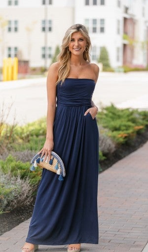 Essential Strapless Maxi