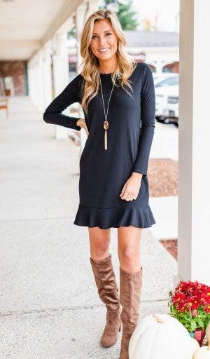 Slip Into This Dress, Black