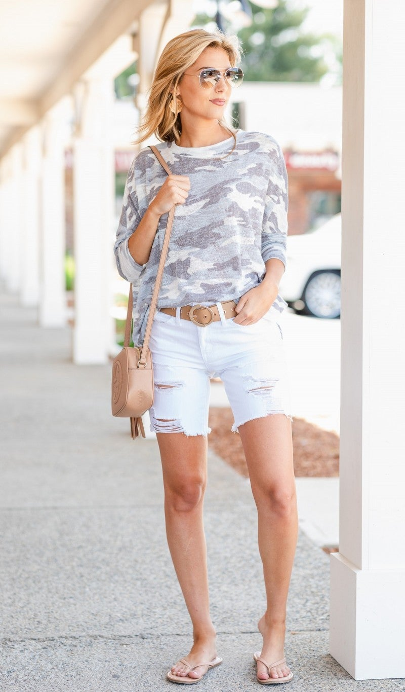 The Bermuda Classic Shorts, White
