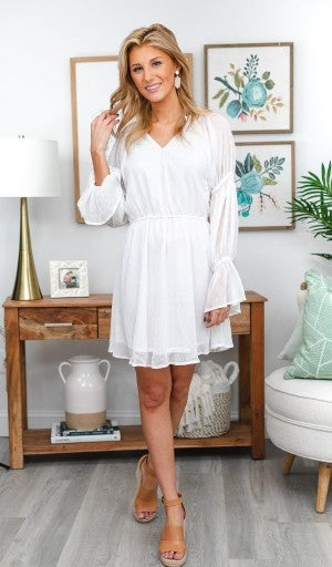 Love At First Sight Dress, Ivory