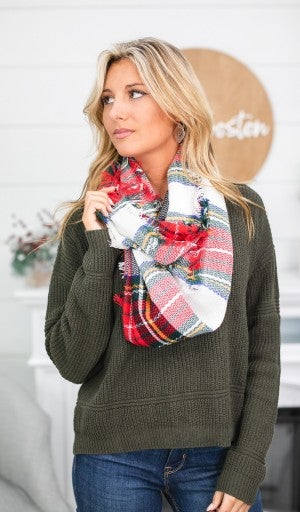 Perfectly Plaid, Infinity Scarf