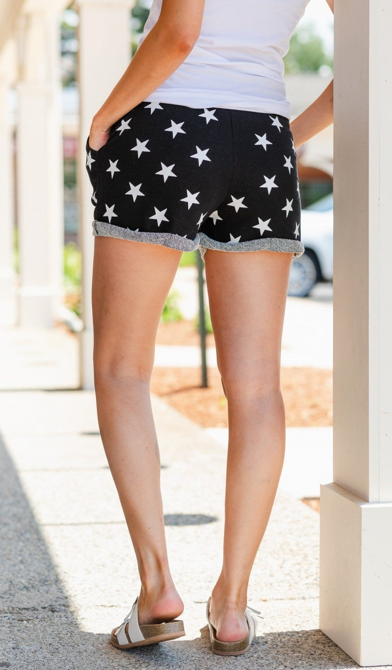 Stardust Shorts, Black