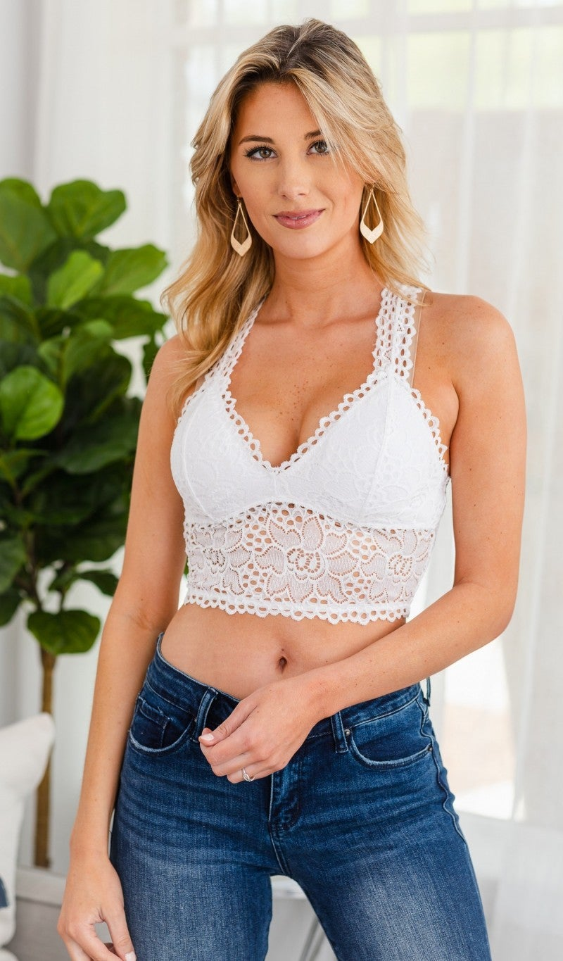 Comfort First Bralette, Black or Ivory