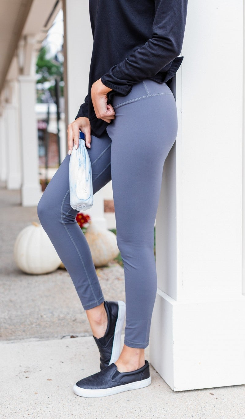 Take On The Day Leggings, Black Or Grey