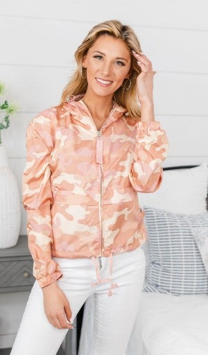 Feel The Vibe Jacket, Pink