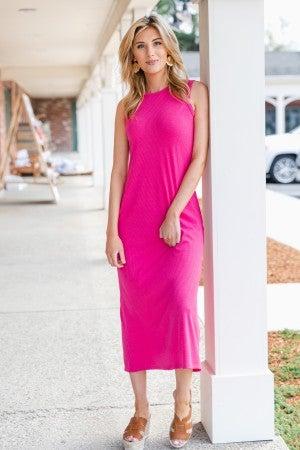 Summer Adventure Dress, Pink