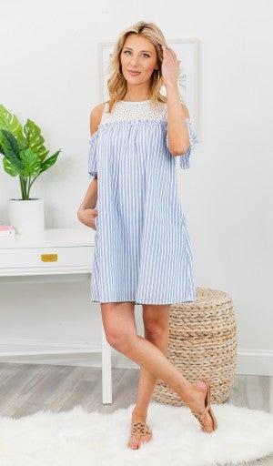 Summer Dream Dress, Blue