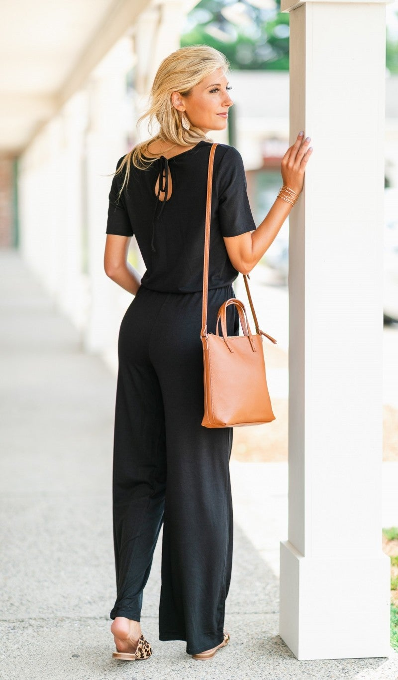 The Dazzling Night Jumpsuit, Black