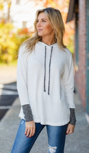 Cozy Clouds Pullover, Ivory