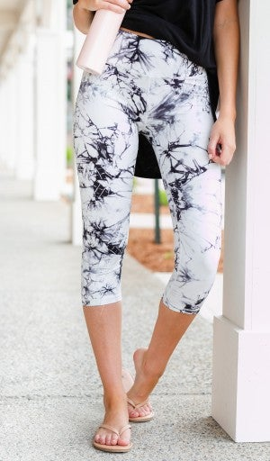 Move With You Leggings, White Dye