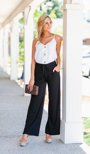 Comfort All Day Pants, Black