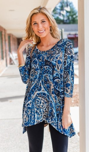 Play With Prints Tunic *Final Sale*