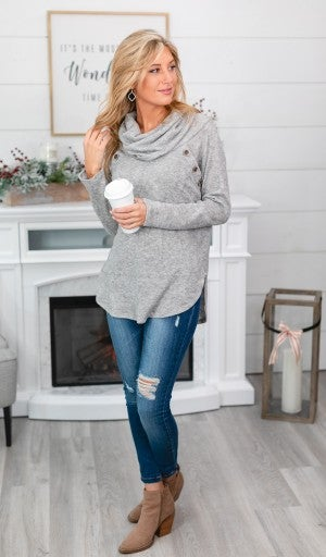 Ready Set Chill Top, Grey