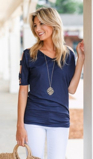 Everyone's Favorite Top, Navy or Ivory