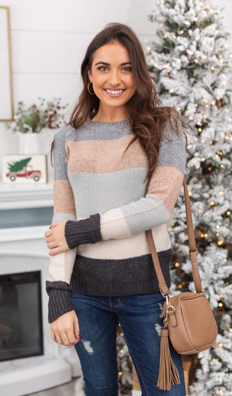 Winter Ways Colorblock Sweater
