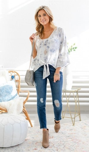 The Preston Blouse