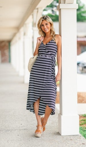 Own Your Stripes Dress