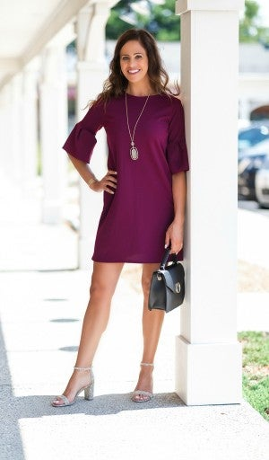 The Claire Dress, Wine