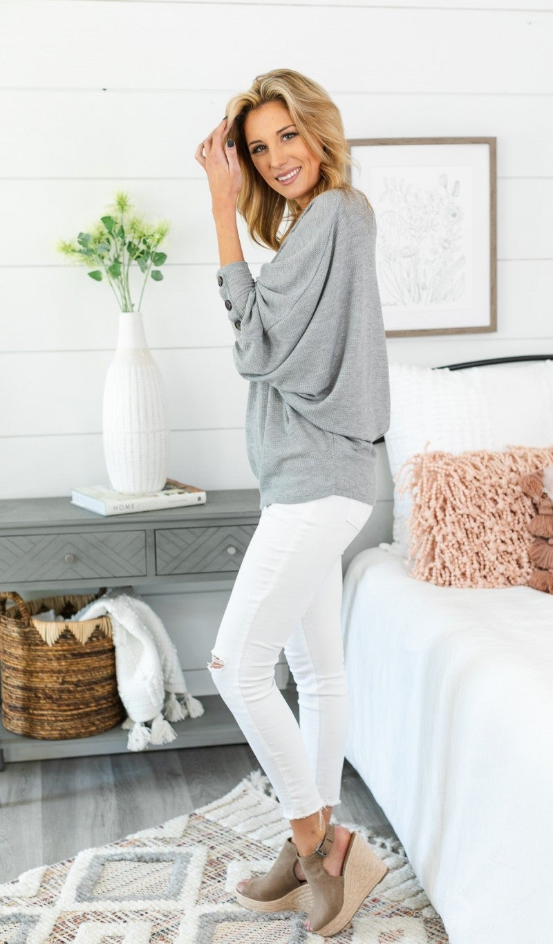 Forever Favorite Top, Grey