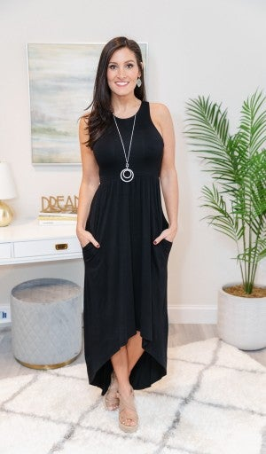 Good Days Only Maxi, Black