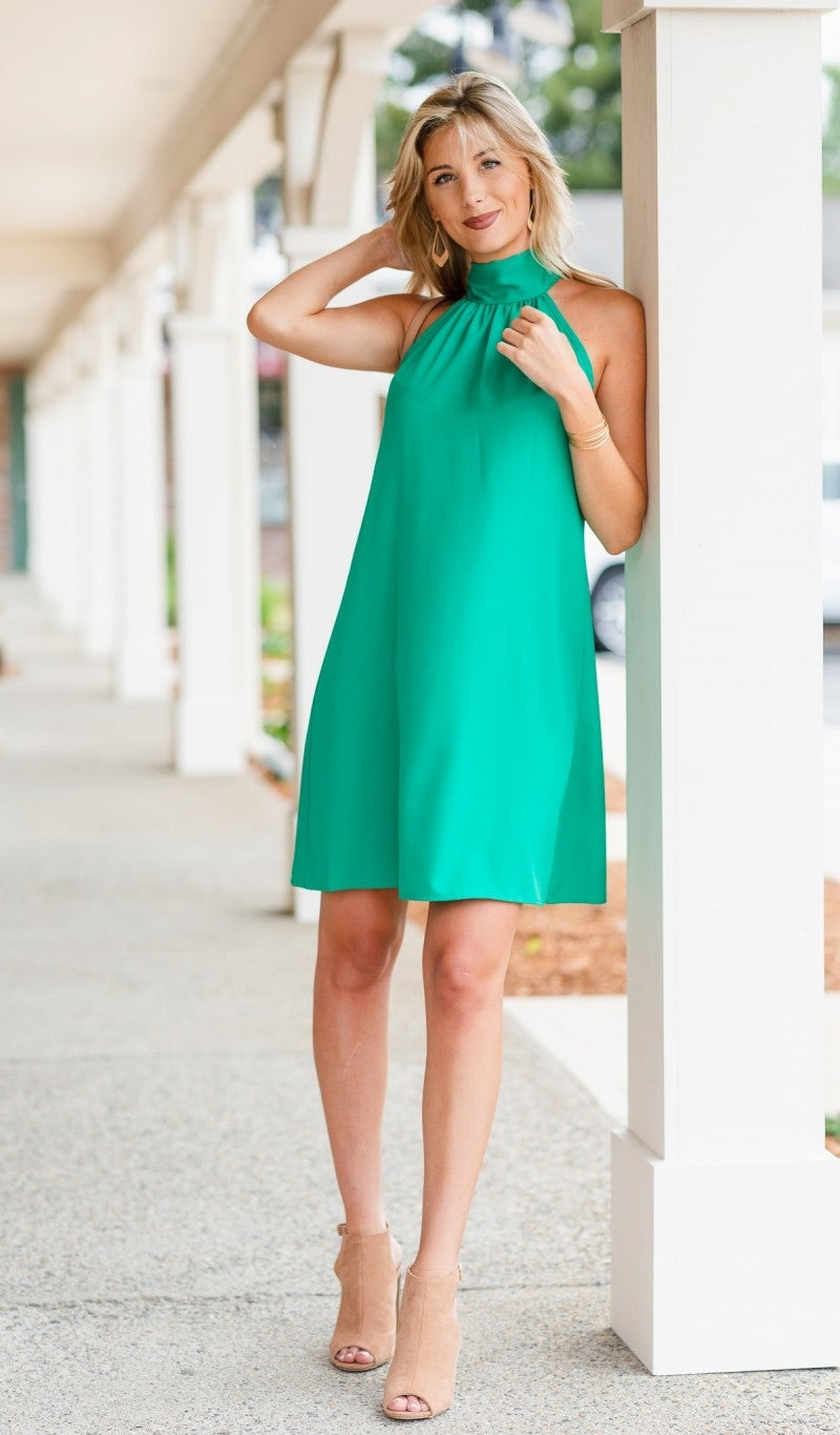 Dreaming of Chic Dress, Kelly Green