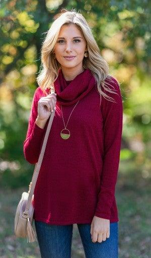 The Lovely Sweater, Burgundy