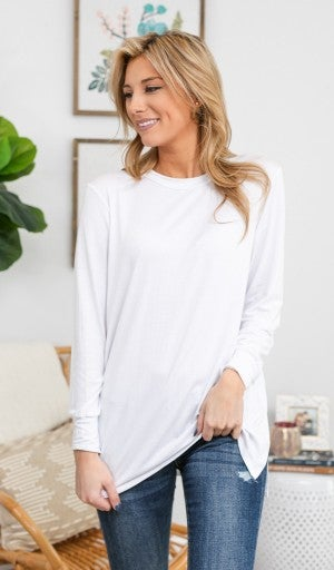 Anything but Basic Tunic in Yellow, Black or White