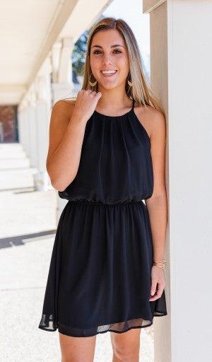 Warmer Days Ahead Dress, Black