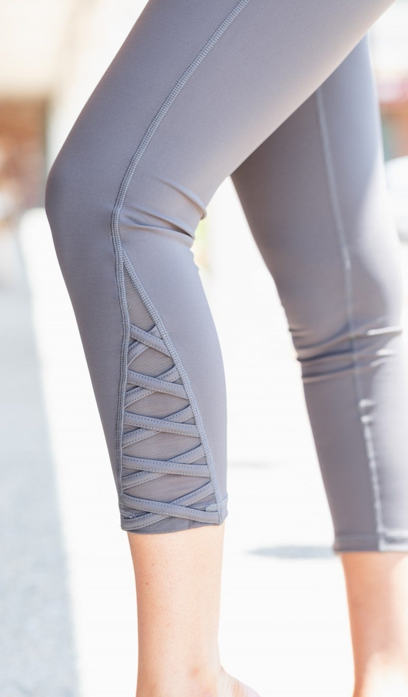 Active with You Legging, Charcoal
