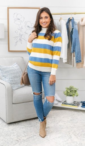 World Of Color Sweater~~MARKDOWN MONDAY!! *Final Sale*