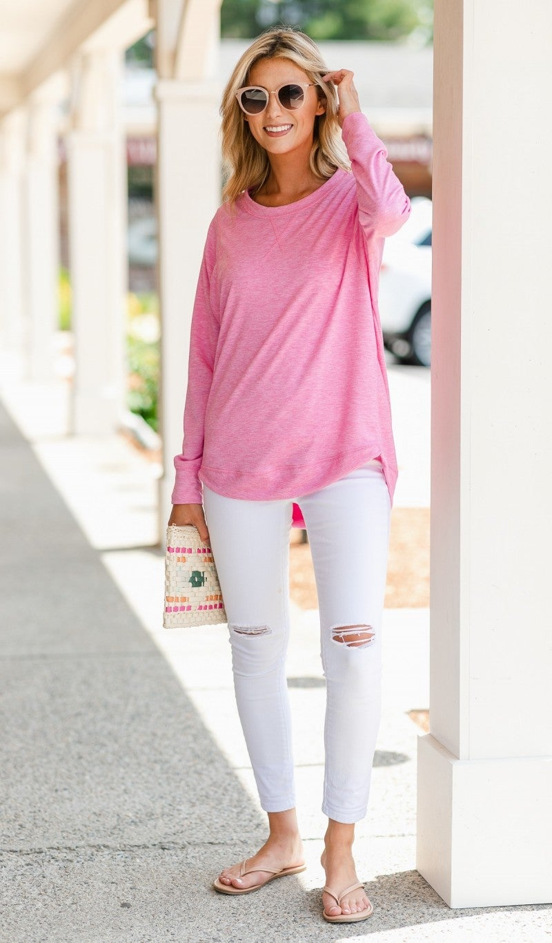 Free to Move Tunic, Pink